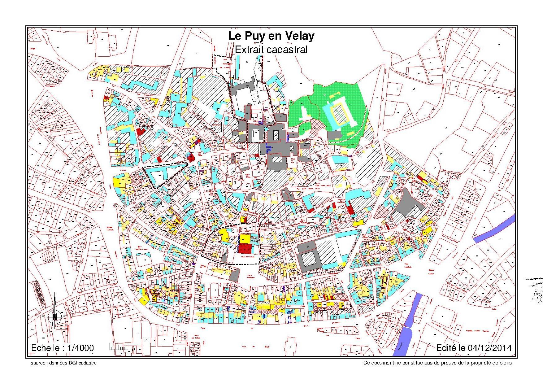 Plan Ville Le Puy En Velay