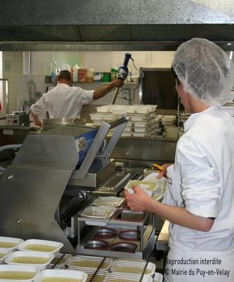 Site officiel de la mairie du puy en velay mairie vie for Cuisine centrale