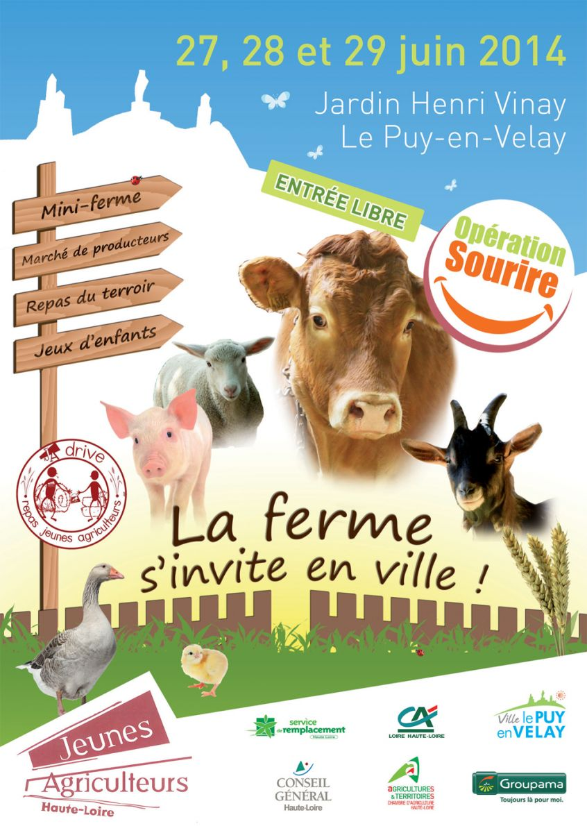 La ferme s invite en ville ce week end site officiel de for Jardin henri vinay
