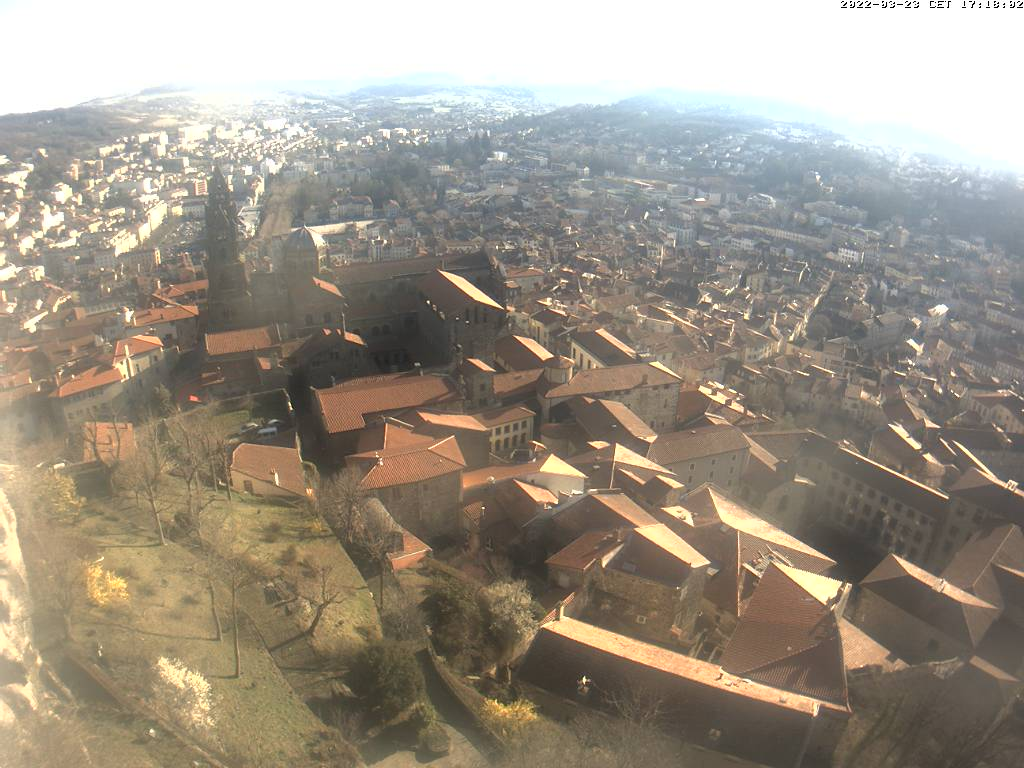 webcam du Puy en Velay météopassion